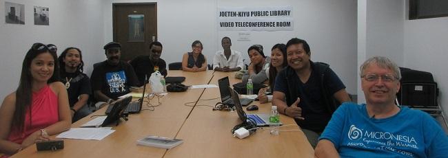 Attendees of Walts Writers Workshop on Saipan