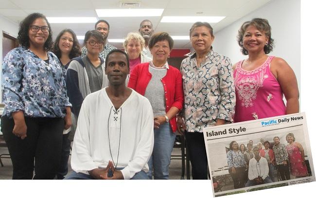 Writers Workshop attendees pose after 10th workshop in series.