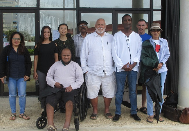 Writers Workshop attendees pose after 11th workshop in series.
