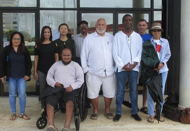 Writers Workshop attendees pose after 11th workshop in series.