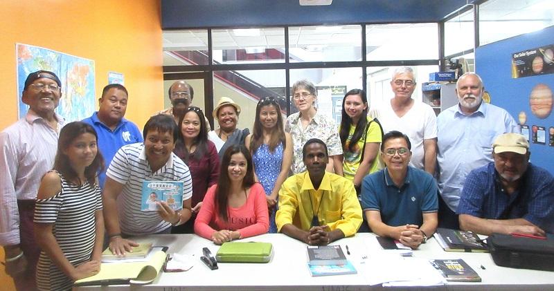 Walt's Writer's Workshop at Northern Marianas International School
