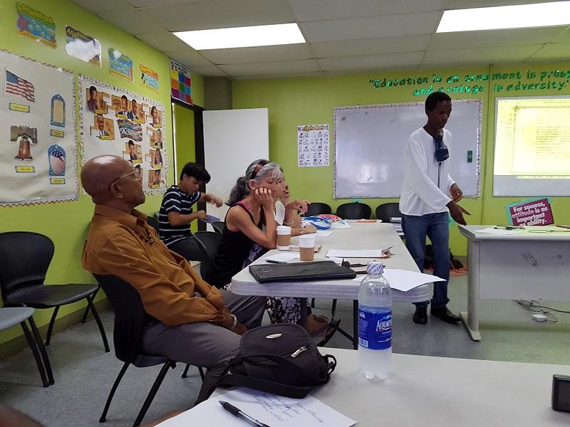 Walts Writers Workshop on Saipan